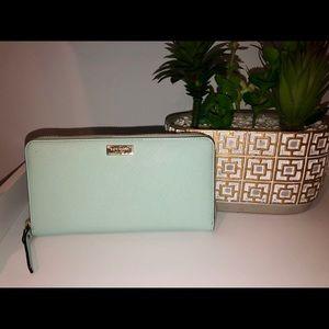 Kate Spade Wallet - Tiffany Blue